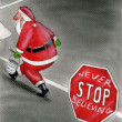 Stock Photo: Never stop believing in Santa