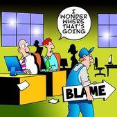 Mi chiedo dove sta la colpa? — Foto Stock