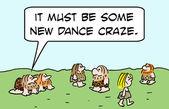 Deve essere una nuova mania di ballo — Foto Stock