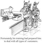 I meet many characters on this job — Stock Photo