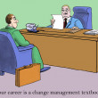 Erected a new skill set in interview — Stock Photo