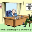 Foto Stock: Office policy