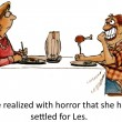 Stock Photo: Settled for Les