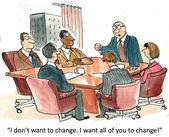 You change — Stock Photo