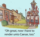 Render unto Caesar — Photo