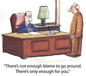 Culpa não é suficiente — Foto Stock