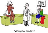 Bull and matador — Stock Photo