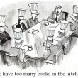 """We have too many cooks in kitchen."" — Stock Photo #32548873"