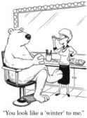 Cartoon illustration. Before you go for your interview — Stock Photo