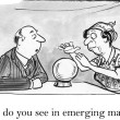 Stock Photo: What do you see in emerging markets