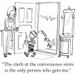 Mom meets boy on the doorstep — Stock Photo #32551447