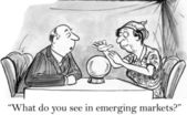 What do you see in emerging markets — Stock Photo