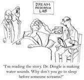 Dlaczego nie iść spać, zanim krzyczę? — Zdjęcie stockowe