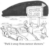 Meteor shower — Stock Photo