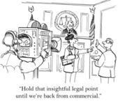 Videography in court — Stock Photo