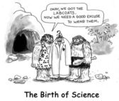 The birth of science — Stock Photo