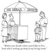 Family problem — Stock Photo