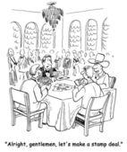 Farmer's poker — Stock Photo