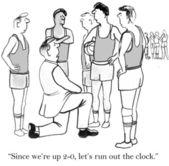 Basketball timeout — Stock Photo