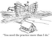 Need the practive — Stock Photo