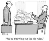 Old rules — Stock Photo