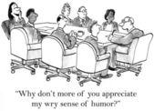 Boss humor — Stock Photo