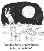 Gravity boots — Stock Photo