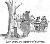 Bear bully — Stock Photo