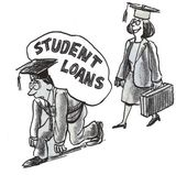 Student loans — Stock Photo