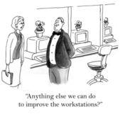 Assistente amministrativo — Foto Stock