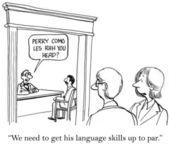 Language skills — Stock Photo