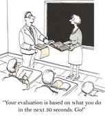 Teacher evaluation — Stock Photo