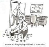 Playing lead to innovation — Stock Photo