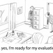 Fear of evaluation — Stock Photo