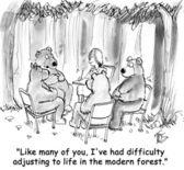 Bears want to communicate better — Stock Photo