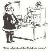 Christmas bonus — Stock Photo