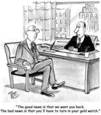 Employee return to work — Stock Photo