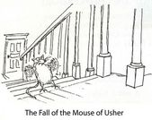 The Fall of the Mouse of Usher — Stock Photo