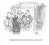 Executivo tem uma mensagem misturada com terno — Fotografia Stock