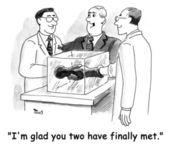 Dwóch naukowców — Zdjęcie stockowe