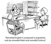 Remedial math — Stock Photo