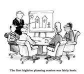 De agenda van de vergadering — Stockfoto