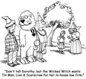 Kötü kalpli cadı — Stok fotoğraf