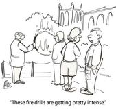 Fire drills — Stock Photo