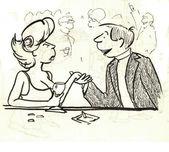 Man makes a woman marriage proposal — Stock Photo