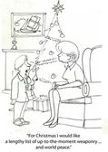 Noel dilek listesi — Stok fotoğraf