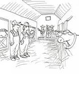 Farm band entertains the cows — Stockfoto