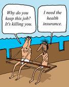 Assicurazione sanitaria — Foto Stock