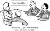 Team Spirit Day — Stock Photo