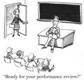 Performance review — Stock Photo
